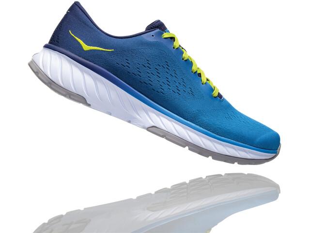 Hoka One One Cavu 2 Buty do biegania Mężczyźni, french blue/lime green